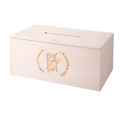 secured box for wedding gift cards