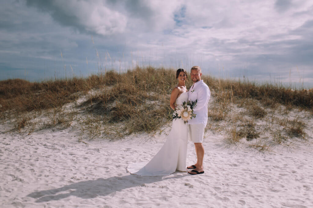 Special Moments Event Planning – Clearwater Beach Wedding – Clearwater Beach Wedding Planner- Clearwater Beach Destination Wedding- bride and groom on Clearwater Beach