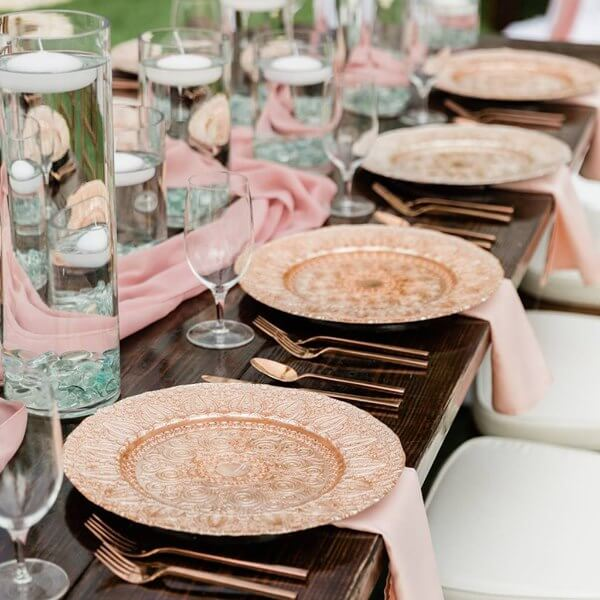 Special Moments Event Planning - Marry Me Tampa Bay - Belleview Inn - rose gold reception decor