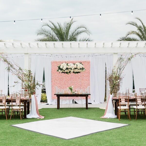 Special Moments Event Planning - Marry Me Tampa Bay - Belleview Inn - outdoor wedding reception