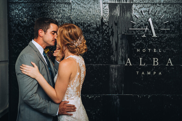 Special Moments Event Planning – Marry Me Tampa Bay – styled wedding shoot – romantic wedding – Hotel Alba – Tampa Wedding – Tampa Wedding planner – bride and groom - bride and groom at hotel alba - Tampa hotel - Tampa wedding venue