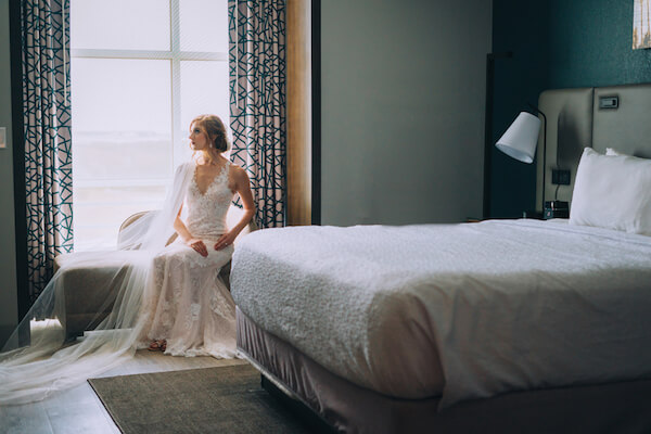 Special Moments Event Planning – Marry Me Tampa Bay – styled wedding shoot – romantic wedding – Hotel Alba – Tampa Wedding – Tampa Wedding planner – bride - bride getting ready - bride in Hotel Alba guest room