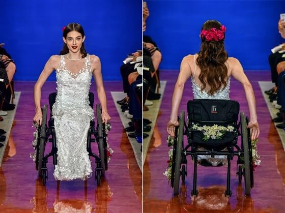 wedding industry recognizing brides with disabilities - New York Bridal Fashion Week - The Couture -