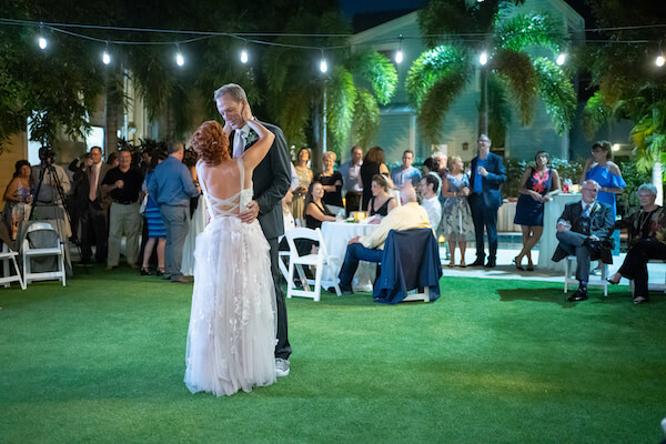St Petersburg wedding - St Petersburg intimate wedding- St Petersburg wedding planner - outdoor wedding reception - bride and groom - bride - groom - first dance - at last