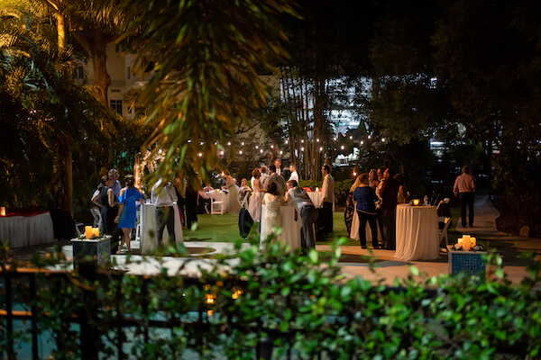 St Petersburg wedding - St Petersburg intimate wedding- St Petersburg wedding planner - outdoor wedding reception -