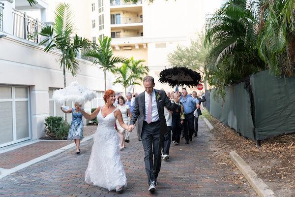 Special Moments Event Planning - second line - wedding parasol - st Petersburg wedding - st Petersburg wedding planner - unique wedding details