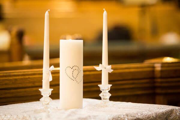 Wedding ceremony - unique wedding ceremony - unity candle - unique ways to use a unity candle