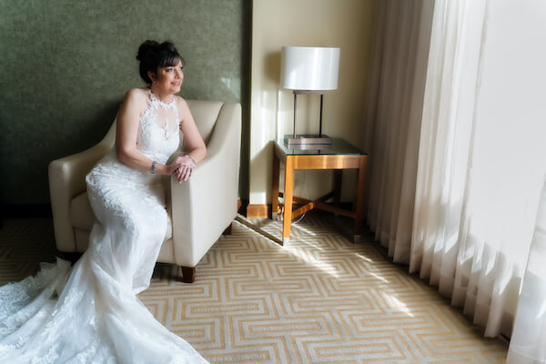 Special Moments Event Planning – Tampa Wedding – Tampa Wedding Planner - bride - bride in lace gown - older bride -
