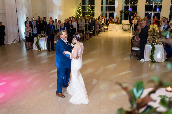Special Moments Event Planning – Tampa Wedding – Tampa Wedding Planner - Tampa Garden Club - Tampa Garden Club wedding - First Dance - Just Married
