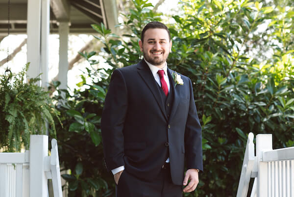 Bradenton wedding – Palma Sola Botanical Park wedding - Special Moments Event Planning - groom