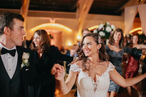 Florida wedding – Saint Petersburg Florida wedding – Saint Petersburg wedding – Greek wedding - Saint Petersburg Coliseum - Saint Petersburg wedding reception - Greek dancing - bride doing Greek dancing