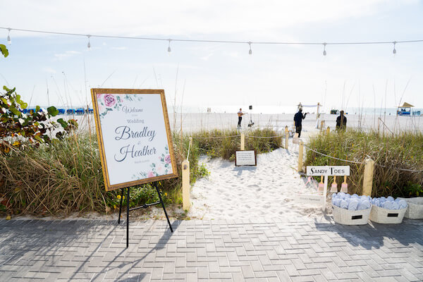 Sirata Beach Resort - Saint Pete beach - beach wedding ceremony
