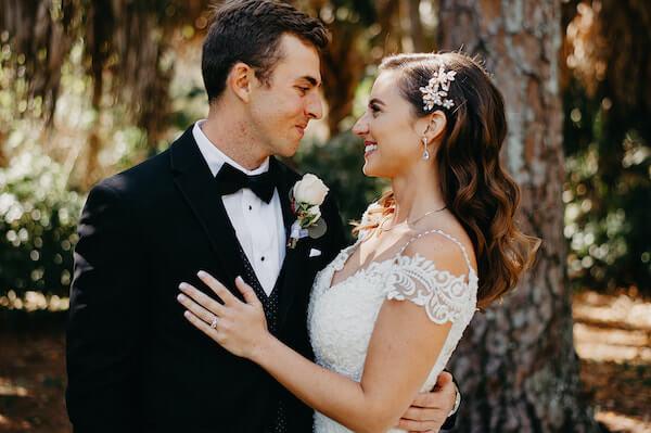 Florida wedding – Saint Petersburg Florida wedding – Saint Petersburg wedding – Greek wedding - just married - bride and groom