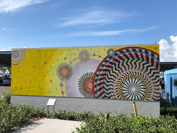 St Pete Pier - Saint Petersburg Florida - artwork at St Pete Pier