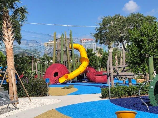 St Pete Pier - Saint Petersburg Florida - kids playground at the St Pete Pier