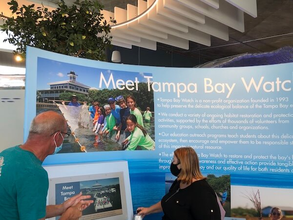 St Pete Pier - Tampa Bay Watch - Tampa Bay Watch Discovery Center - Tammy Waterman - Jon Zeigler