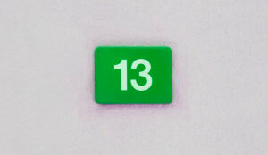 lucky number thirteen for special Moments Event Planning