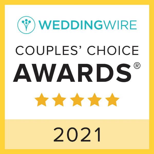 Wedding Wire Couples' Choice for 2021