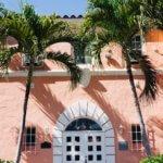 the historic pink Saint Petersburg Woman's Club