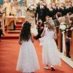 flower girls at Saint Petersburg Florida wedding
