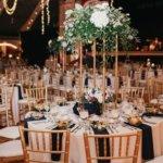 luxurious wedding decor at Saint Petersburg Coliseum wedding reception