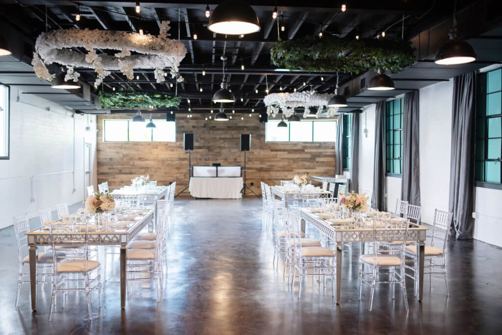 interior of The West Events by Kristen Marie Photography