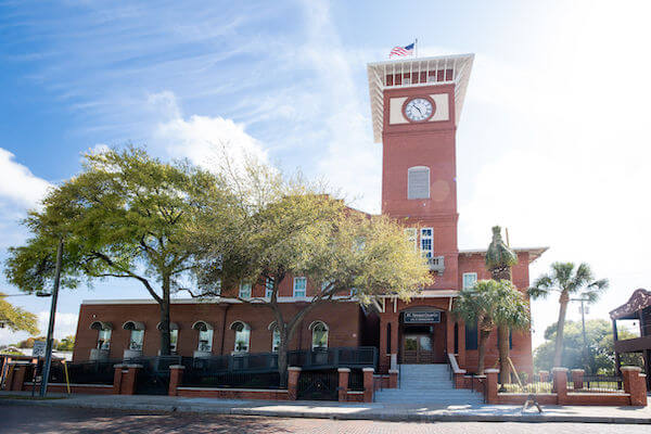Tampa's iconic JC Newman Cigar Factory in historic Ybor City