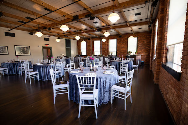 Event space in the JC Newman Cigar Co factory in Tampa