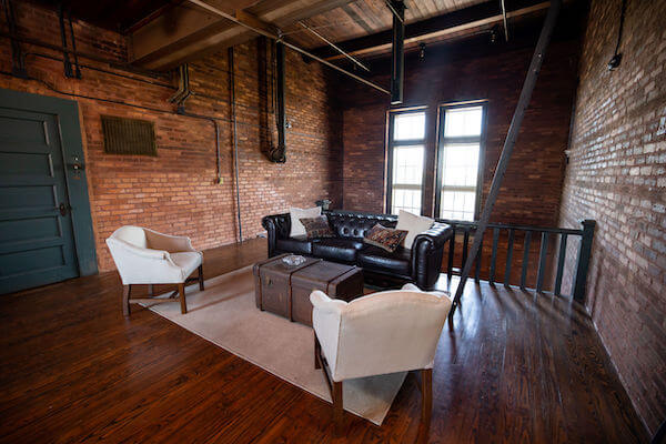 3rd floor lounge at the JC Newman Cigar Co factory in Ybor City
