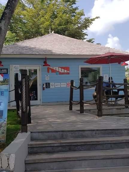 Dive Center at Sandals resort