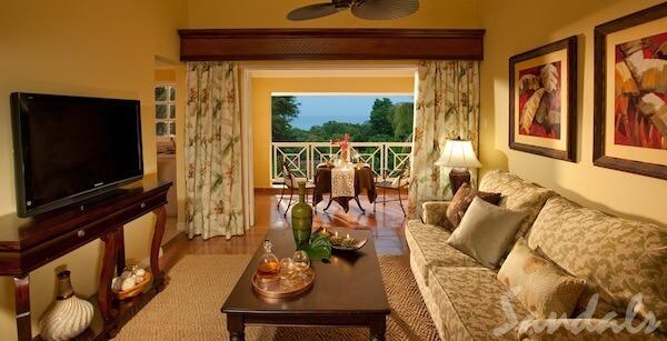Butler One-bedroom villa suite at the Sandals Ochi Rios Resort
