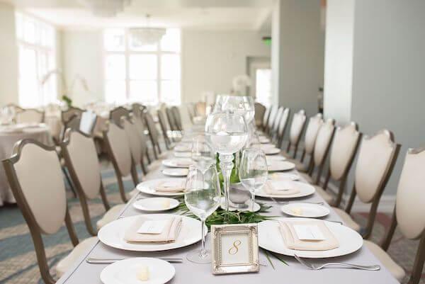 wedding reception in the Fenway Hotel's Caladesi Ballroom